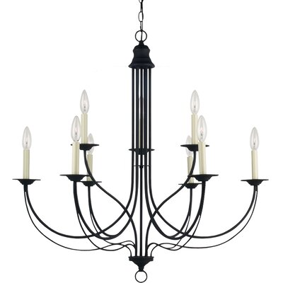 Plymouth 9 Light Chandelier