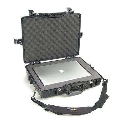 "Pelican Products Laptop Case with Foam: 17.25"" x 21.63"" x 4.75"""