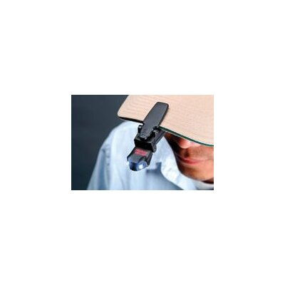 Pelican Products VB3 LED Visor Clip Flashlight (Black)