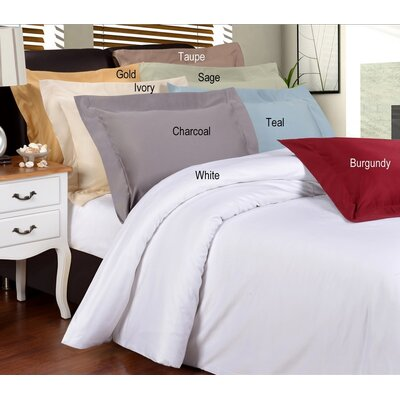 Simple Luxury 1200 Thread Count Solid Duvet Collection