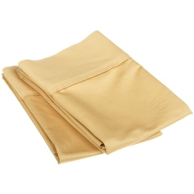 1200 Thread Count Egyptian Cotton Solid Pillowcase Set