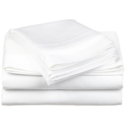 Simple Luxury 650 Thread Count Egyptian Cotton Solid Sheet Set