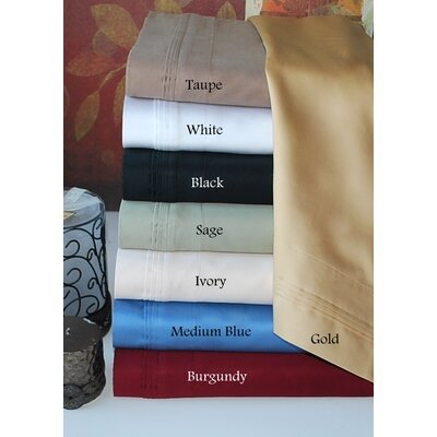 Simple Luxury 800 Thread Count Egyptian Cotton Solid Sheet Set