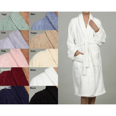 Simple Luxury Superior Egyptian Cotton Unisex Terry Bath Robe