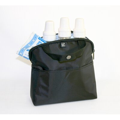J.L. Childress MaxiCOOL 4-Bottle Cooler in Black