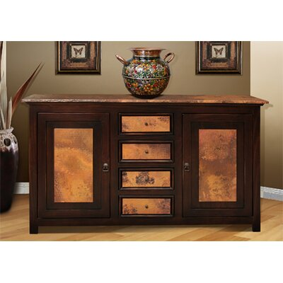 Hammered Shelf Table Wayfair