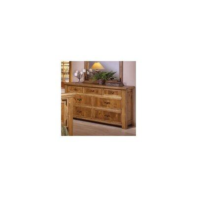 Artisan Home Furniture Lodge 100 7 Drawer Dresser