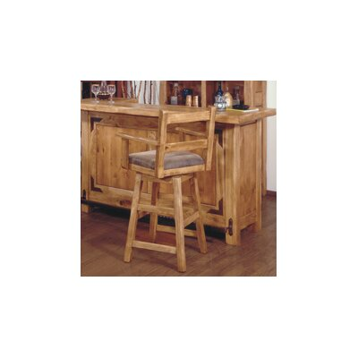Artisan Home Furniture Lodge 100 Swivel Bar Stool