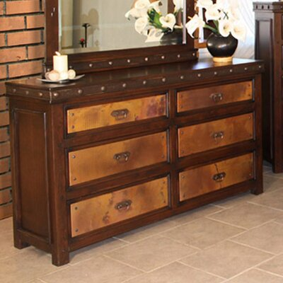 Copper Canyon 6 Drawer Dresser