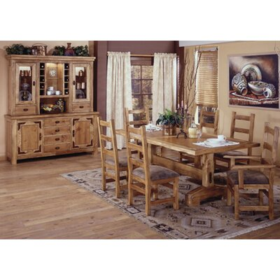 Artisan Home Furniture Lodge 100 7 Piece Dining Set