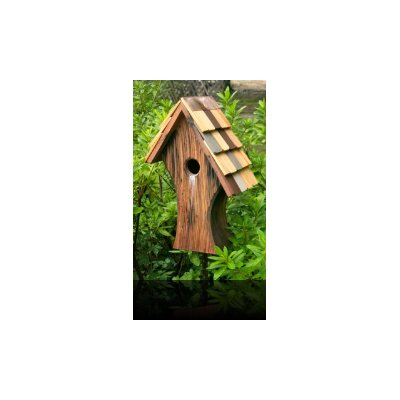 Heartwood Nottingham Bird House with Shingled Roof
