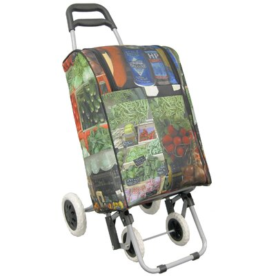 Insulated Shopper's Tote on 4 Wheels