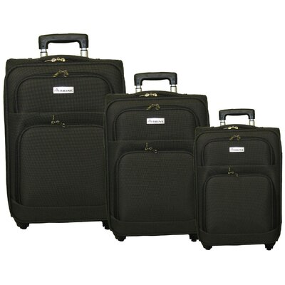 McBrine Luggage 3 Piece Luggage Set