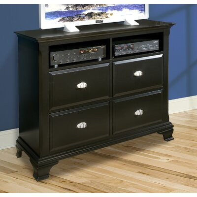 Chelsea 4 Drawer Media Chest