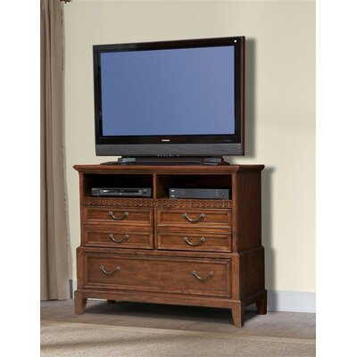 Port Royal 3 Drawer Media Chest