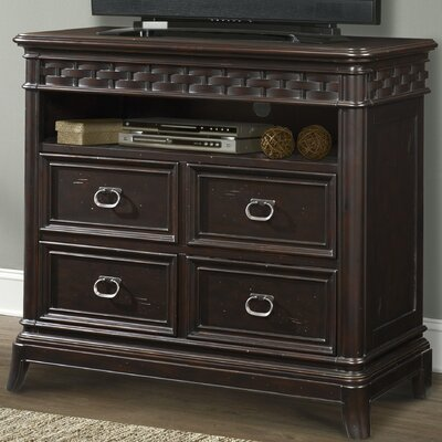 Park Avenue 4 Drawer Media Chest