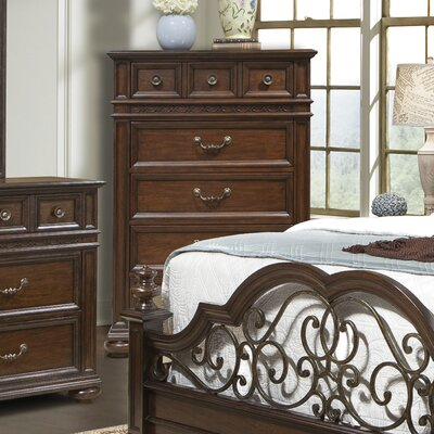 Sussex County 5 Drawer Chest
