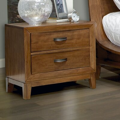 Somerset 2 Drawer Nightstand
