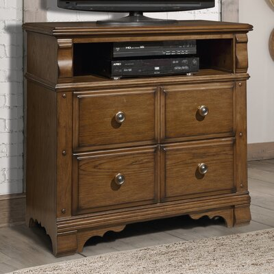 Hunter's Ridge 4 Drawer Media Chest