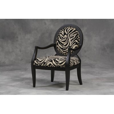 Linon Fabric Arm Chair