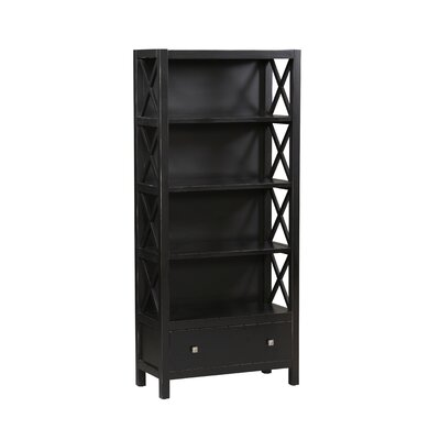 Linon Anna 5-Shelf Bookcase