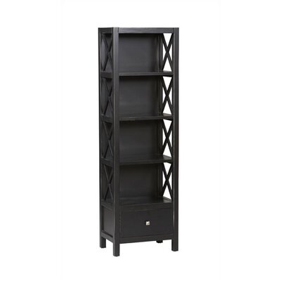 Anna 5-Shelf Tall Bookcase