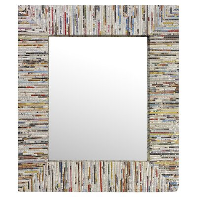 "<strong>Linon</strong> Magazine 29.5"" H x 25.5"" W Rectangle Mirror"