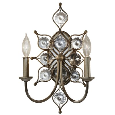 Feiss Leila 2 Light Wall Sconce