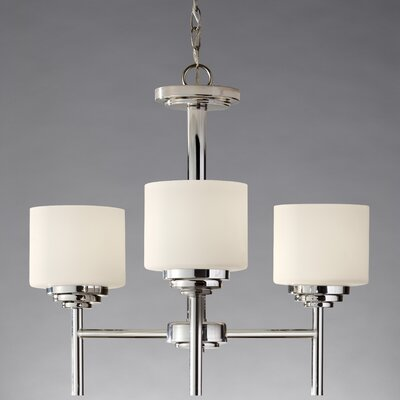 Feiss Malibu 3 Light Chandelier