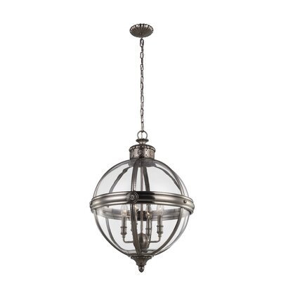 Adams 4 Light Candle Chandelier
