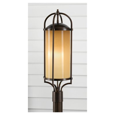 Feiss Dakota 3 Light Outdoor Post Lantern