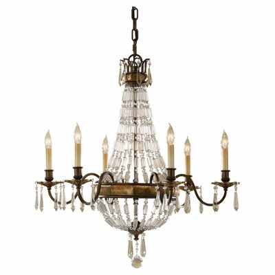 Feiss Bellini 6 Light Chandelier