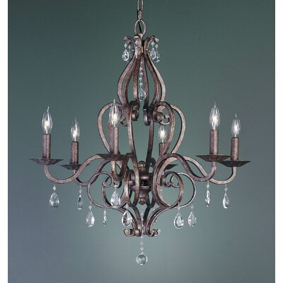 Feiss Mademoiselle 6 Light Chandelier