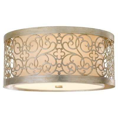 Feiss Arabesque 2 Light Flush Mount