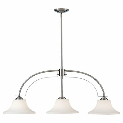 Feiss Barrington 3 Light Kitchen Island Pendant