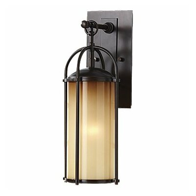 Wayfair External Wall Lights : Feiss Dakota 1 Light Outdoor Wall Lantern & Reviews Wayfair