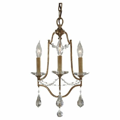 Valentina 3 Light Mini Chandelier