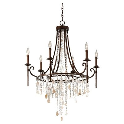 Feiss Cascade 12 Light Chandelier