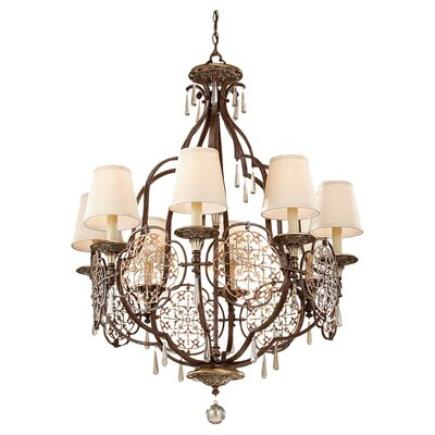 Feiss Marcella 8 Light Chandelier