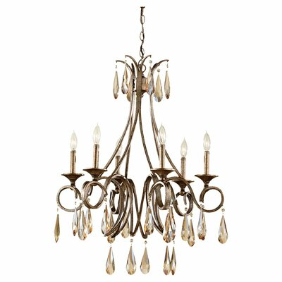 Feiss Reina 6 Light Chandelier