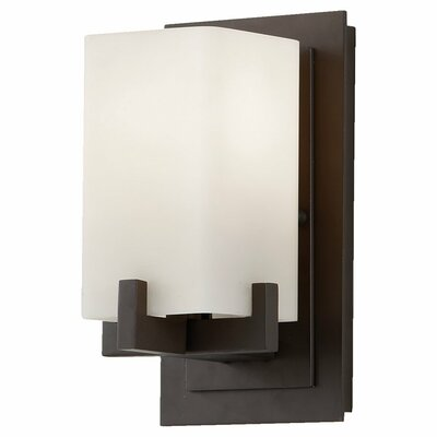 Wall sconces wayfair for Bathroom wall sconces oil rubbed bronze