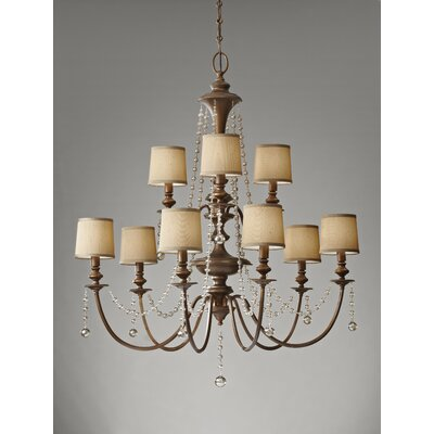 Feiss Clarissa 9 Light Chandelier