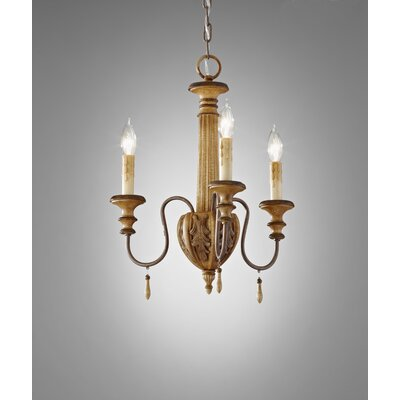Feiss Annabelle 3 Light Chandelier