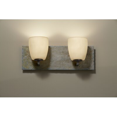 Feiss Quarry 2 Light Bath Vanity Light