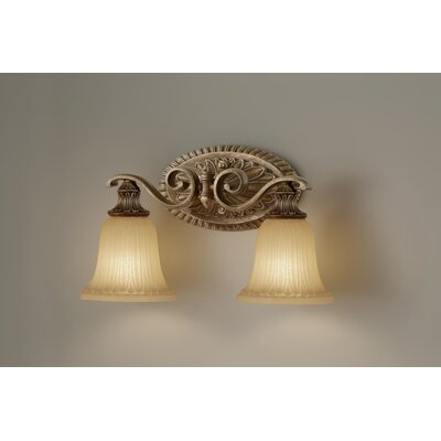 Feiss Francine 2 Light Bath Vanity Light