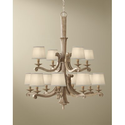 Feiss Blaire 12 Light Chandelier