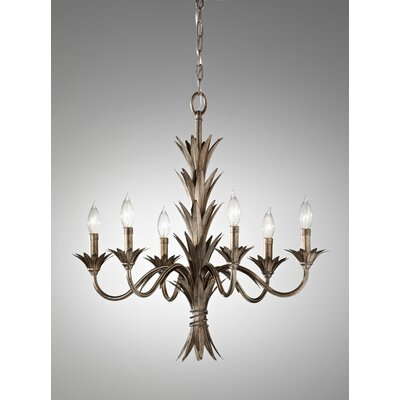 Feiss Flora 6 Light Chandelier
