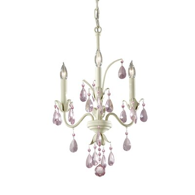 Feiss Charlene 3 Light Chandelier