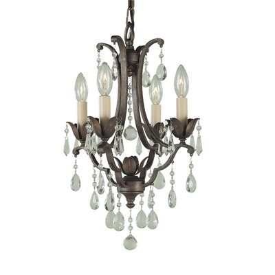Feiss Maison De Ville 4 Light Mini Chandelier