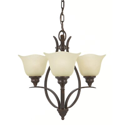 Feiss Morningside 3 Light Mini Chandelier